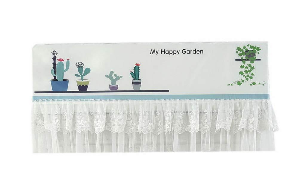 Gentle Meow Home Restaurant Dustproof Air Conditioner Cover, Cactus