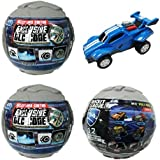 Rocket League Mini Pull-Back Racer Car Mystery Ball Set of 3 - With Possible DLC Code [並行輸入品]
