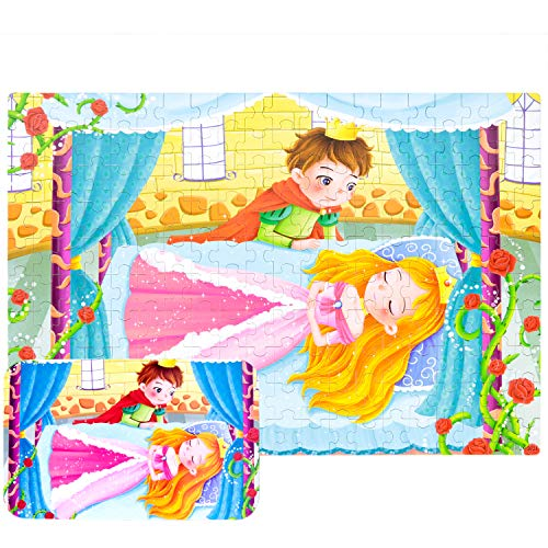 - Yale Sleeping Beauty Kid 200 Piece Jigsaw Puzzle Game for 3-10 Age,Portable Box Pack Toy