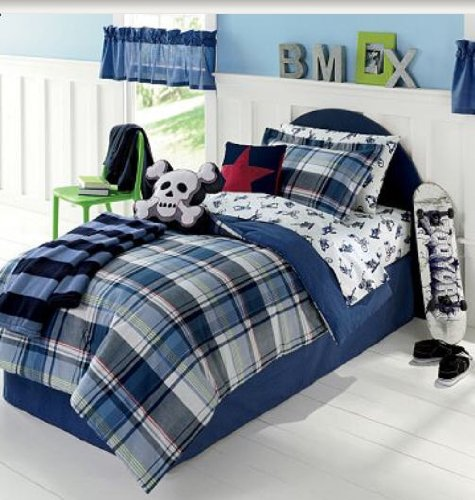 Superb Extreme Sports Boys BMX, Skateboard, Snowboard, TWIN Comforter Set (5 Piece  Bed In Bag)  : Amazon.co.uk: Kitchen U0026 Home