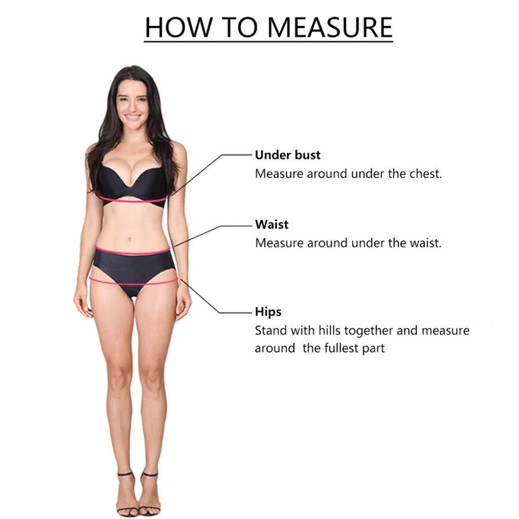 Mymyguoe Bikini de Gran tamaño Impreso en Hoja, Bikinis ...