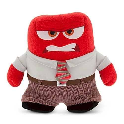 Anger Plush - Disney•Pixar Inside Out - Small - 8 1/2'' by Pixar ()