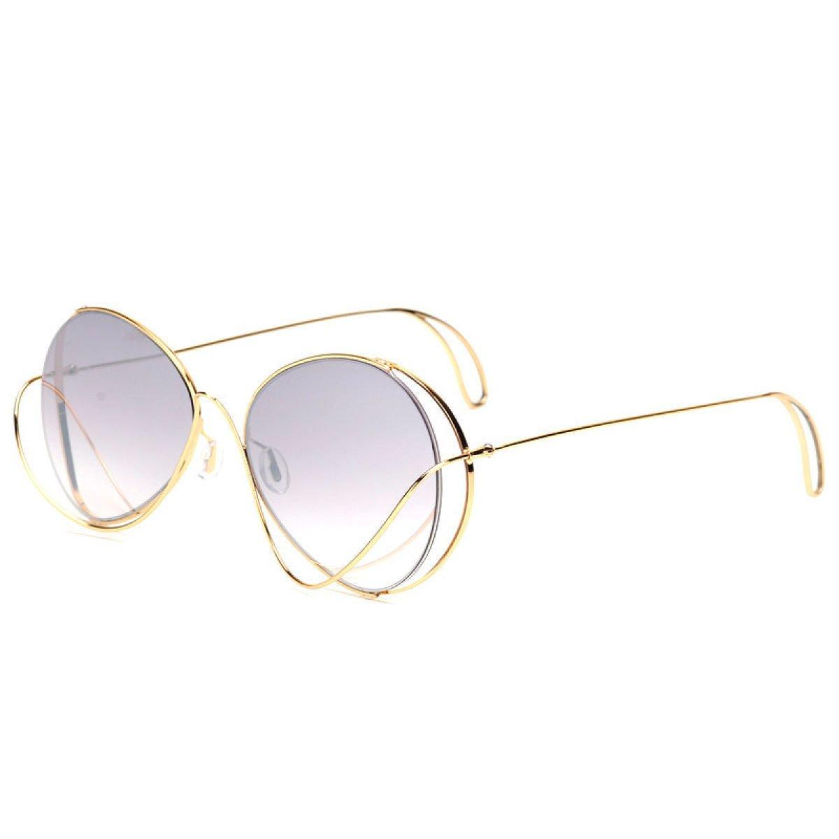 Wkaijc Polarisiert Mode Große Kiste Mode Individualität Komfort Freizeit Sonnenbrillen Sonnenbrillen,A