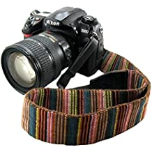 Eorefo CAI-Neck Strap Camera Strap Bohemia Shoulder Neck Universal Camcorder Belt Strap for All DSLR Camera Nikon Canon Sony Olympus Samsung Pentax Fujifilm Colorful