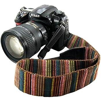 Amazon.com : FODSLR Dslr Camera Strap Neck Shoulder Strap Belt ...