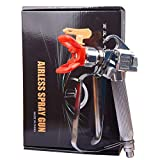 GDHXW W-077 Airless Paint Spray Gun High Pressure 3600 PSI 517 TIP for Pump Sprayer and Airless Spraying Machine