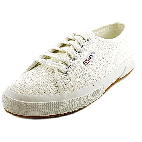 Superga Women's 2750 Crochetw Fashion Sneaker, White, 40 EU/9 M US
