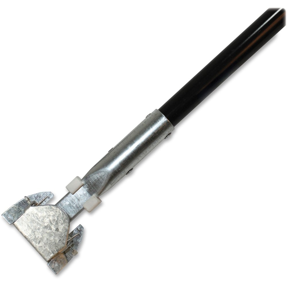 Genuine Joe GJO02332 Dust Mop Handle, 1'' Diameter x 60'' L, Black