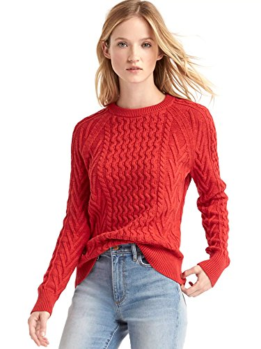 bestsbrands-gap-wavy-cable-knit-sweater-long-raglan-sleeves-with-ribbed-cuffs-hem-ribbed-crewneck-s-
