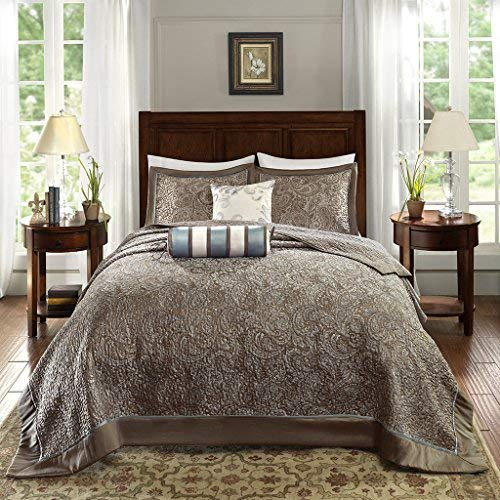 Madison Park Aubrey Bedding Set King Blue