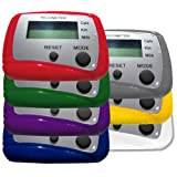 CW Multi-Function Pedometer (Assorted Colors)