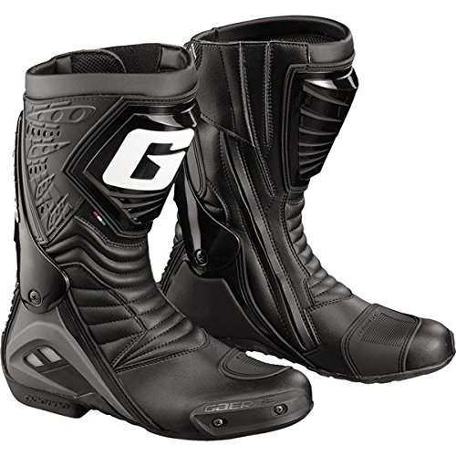 - Gaerne GR-W Men's Black Motorcycle Boots - 8