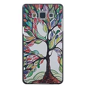Teléfono Móvil Samsung - Cobertor Posterior - Gráfico/Diseño Especial - para Samsung Galaxia A3 ( Multi-color , Plástico )