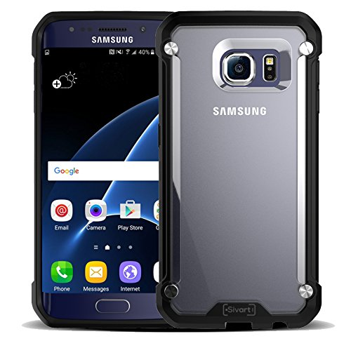 Samsung Galaxy S7 Case, Sivart Samsung Galaxy Case Shock-Absorption Bumper Anti Scratch Clear Back Ultra Thin Phone Case for Samsung Galaxy S7