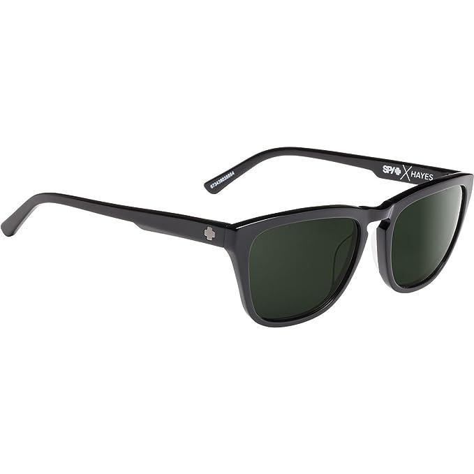 3b1b342fb9 Spy Optics Hayes Black   Happy Gray Green Polarized 673438038864 Sunglasses