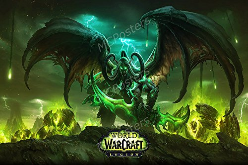 PremiumPrintsG – World of Warcraft Legion PC – XNVG037