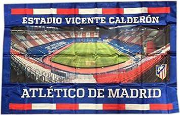Bandera Atlético de Madrid Estadio Vicente Calderon 100x150 cm