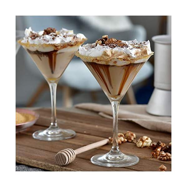 Krosno Bicchieri Cocktail Martini Bar Vetro Coppa | Set di 6 | 150 ML | Elite Collection | Ideale per la casa… 7 spesavip