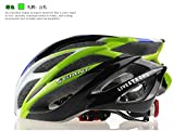 Cycling Helmet Sport Bike Parts Bicycle Helmet Riding Helmet Mountain Bike Helmet Size 58-63cm - Green