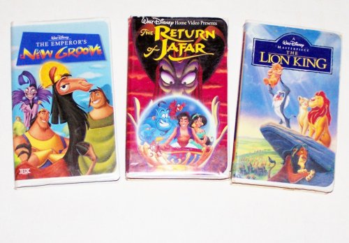 Disney Animated Collection #12 (3pk): The Emperor's New Groove; the Return of Jafar; the Lion King