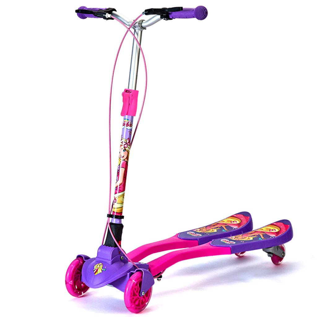 子ども用自転車 子供用三輪車 子供用スクーター 屋内外のスクーター 315歳のはさみ車 屋外自転車 男女輸送 (Color : Red, Size : 79cm*25cm*89cm) 79cm*25cm*89cm Red B07M7V8BNK