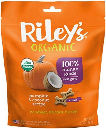 Riley's Organics Pumpkin and Coconut Bone, Small, 5 Oz.