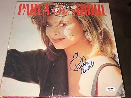 Paula Abdul Autographed Signed Forever Your Girl Album Lp PSA/DNA Authentic