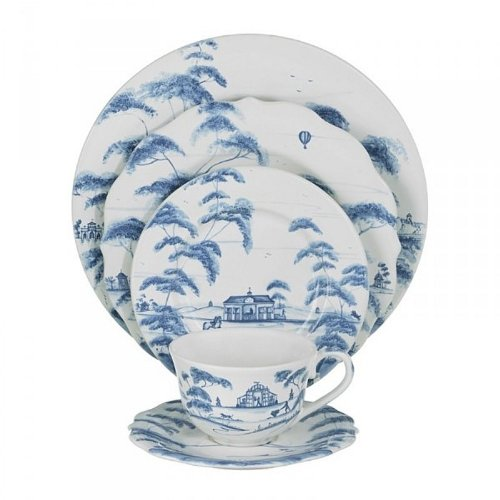 Juliska Country Estate Delft Blue 5 Piece Place Setting