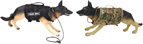 1//6 Scale Wargame Accessories Police Dogs for 12/'/' WWII War Action Figures