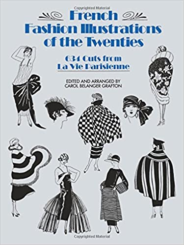 amazon french fashion illustrations of the twenties 634 cuts from