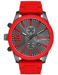 Men's DZ4448 Rasp Chrono Red Watch