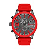 Diesel Men's DZ4448 Rasp Chrono Red Watch