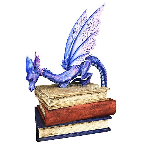 2018 Amy Brown Fairies Dragon Collectible Figurine (Book ()