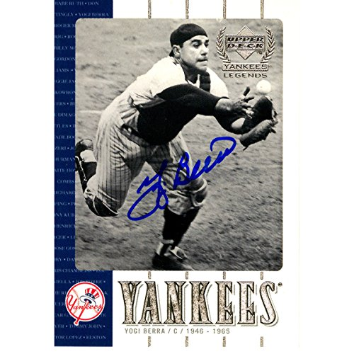 Yogi Berra Signed Baseball - 1