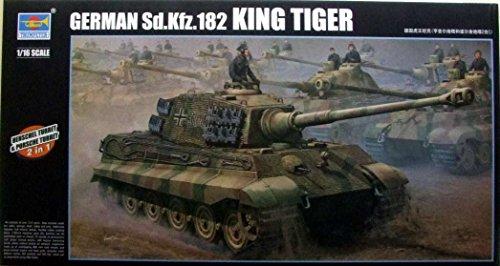 (Trumpeter TRP00910 1:16 German Sd.Kfz.182 King Tiger (Henschel & Porsche Turret) [Model Building KIT])