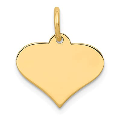 14K White Gold #1 Mom Pendant Jewels Obsession #1 Mom Charm Pendant 20 mm