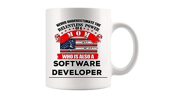 Geek Coffee Mug T-Rex Nerd Funny Programmer Coding Code Developer Ceramic 11oz