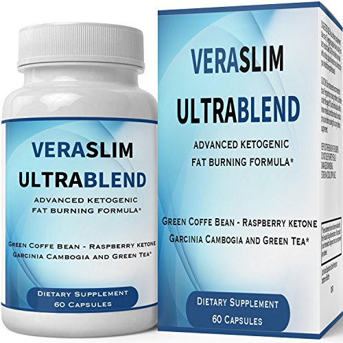 Vera Slim Ultra Blend Capsules with Garcinia Cambogia | Pills Weight Loss Supplement - Extreme Weightloss Lean Fat Burner | Pastillas for Women Men Natural Diet Supplement 60 Count by nutra4health LLC