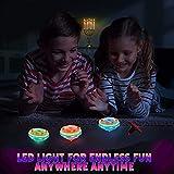 Liberty Imports 12-Pack LED Light Up Flashing UFO