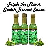 Grace Green Scotch Bonnet Pepper Sauce 3pk