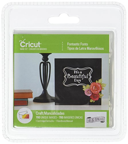 Cricut Cartridge Fontastic Fonts by Cricut