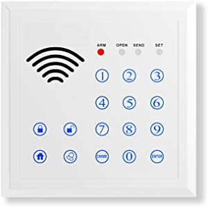 ERAY Wireless Keypad 433MHz with 2 RFID Cards, Accessories for H3 Tuya Smart Home Security Alarm System