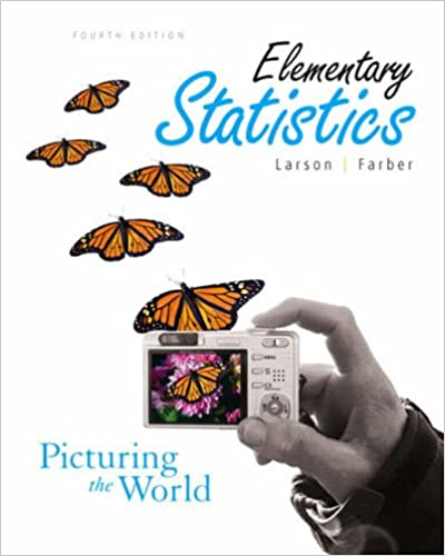 Amazon com: Elementary Statistics: Picturing the World