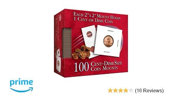 Sampler of 35 Flips 35 Small Dollar Coin Flips Cardboard 2x2 Holders NEW