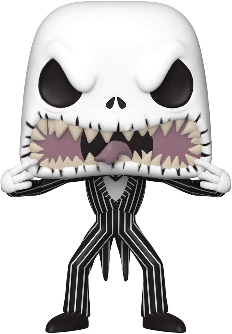 Funko- Pop Disney: The Nightmare Before Christmas-Jack (Scary Face) Figura Coleccionable, Multicolor (48182)