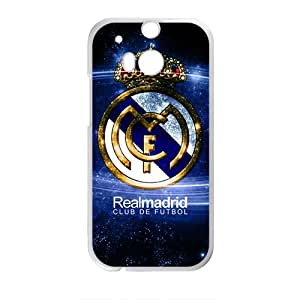 LINGH RealMadrid Club de Futbo Cell Phone Case for HTC One M8