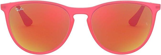 RJ9061SF Asian Fit Sunglasses Rubber Transparent Fuchsia//Dark Violet 52mm