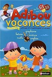 Adibou Vacances, de la Grande Section vers le CP