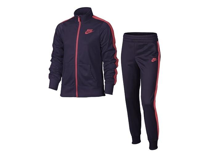 Nike Mädchen G NSW TRK Suit Tricot Trainingsanzug: