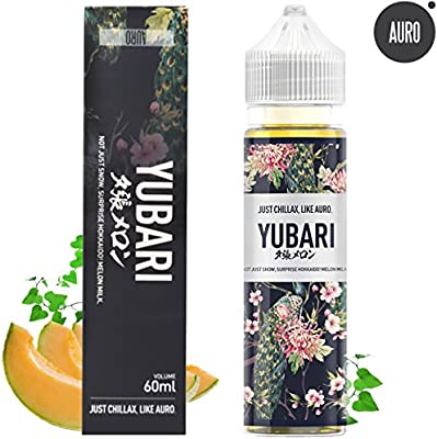 AURO 60ML Naturalmente Extracts Yubari Crema Melon Liquid ...
